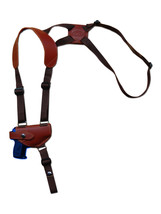 NEW Barsony Burgundy Leather Shoulder Holster for Astra AMT CZ Mini 22 25 380 - $52.99
