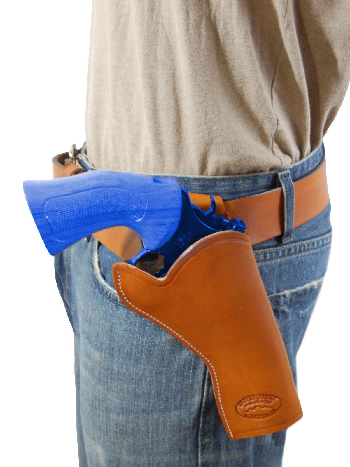 "Beretta 4/"" Revolvers Barsony OWB Belt Gun Holster for 38 357 41 44 Astra"