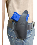 New Barsony Black Leather OWB Belt Holster CZ, EAA Compact, Sub-Comp 9mm... - $46.99