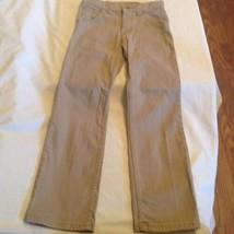Wrangler jeans capri pants Size 12 husky/plus khaki Girls - $16.99