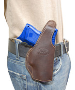 New Barsony Brown Leather OWB Holster Springfield Compact, Sub-Compact 9... - $46.99