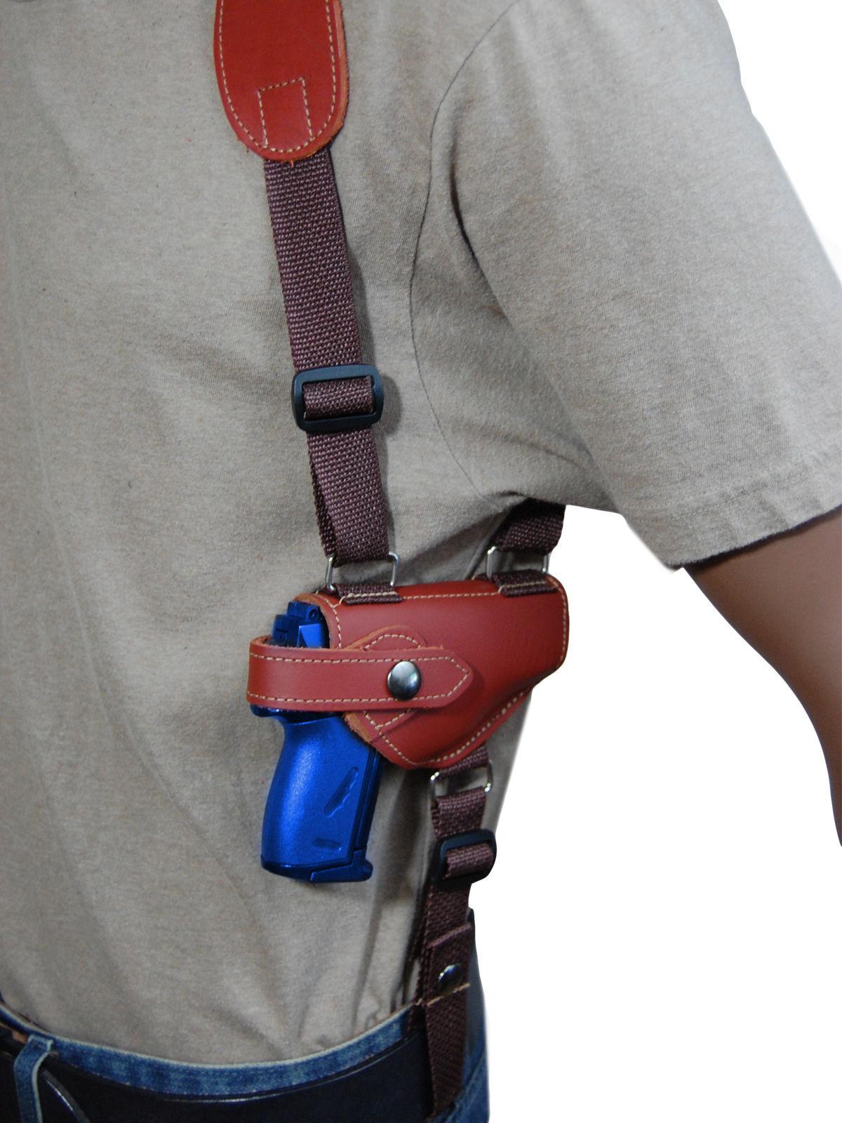 NEW Barsony Burgundy Leather Shoulder Holster Cobra Daewoo Mini-Pocket 22 25 380
