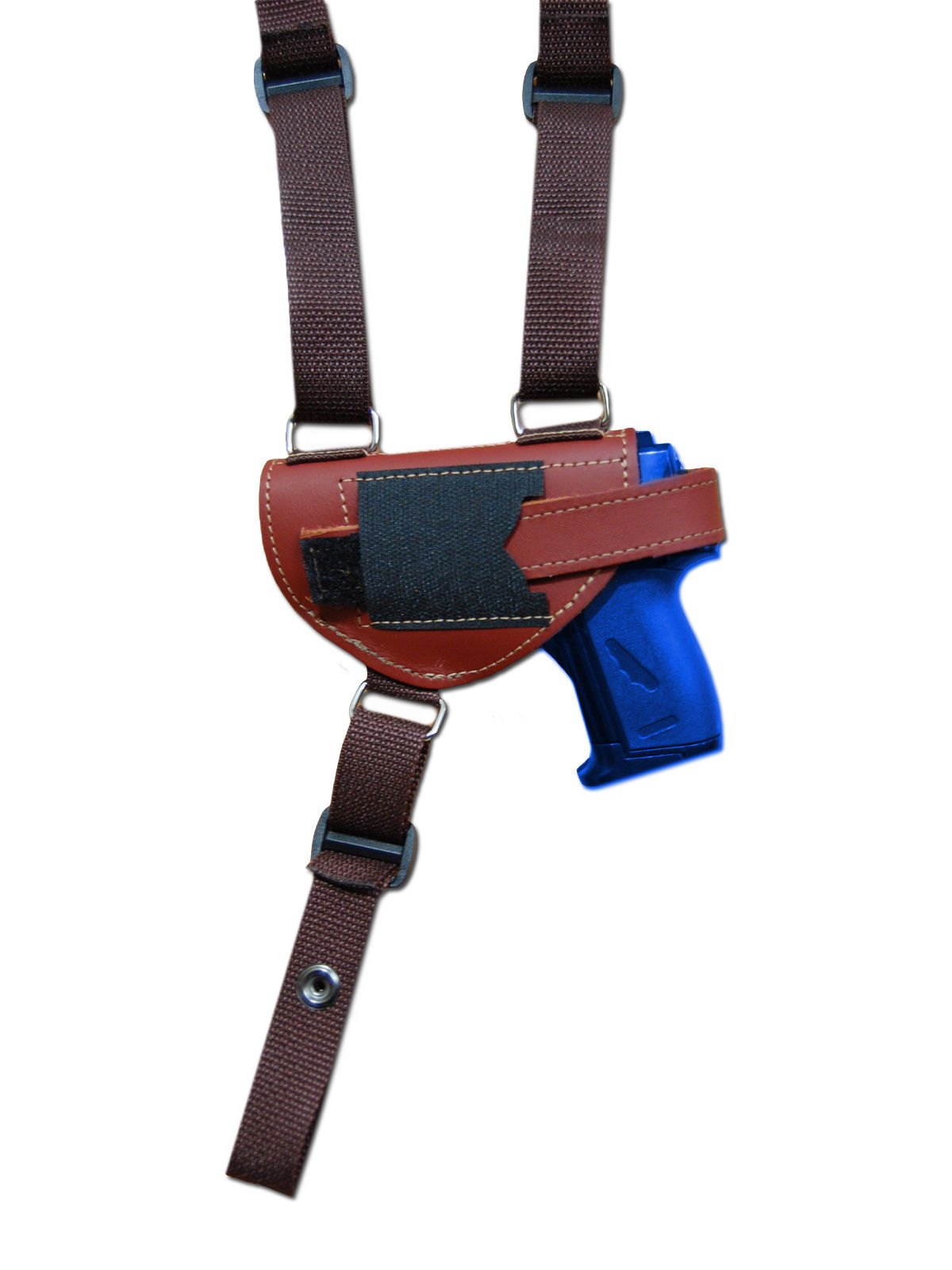 NEW Barsony Burgundy Leather Shoulder Holster Kel-Tec Ruger MiniPocket 22 25 380