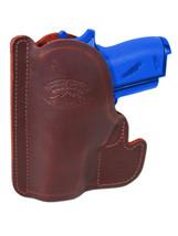 New Barsony Burgundy Leather Pocket Holster Astra AMT CZ Small Mini 22 25 380 - $26.99