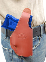 New Barsony Burgundy Leather OWB Holster Sig-Sauer Compact Sub-Compact 9mm 40 45 - $46.99