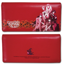 Wallflower Group on Red Long Wallet GE2427 *NEW* - $19.99
