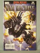 Marvel 1 Dark Reign War Machine 1st Issue Greg Pak Leonardo Manco JD Ramos - $2.53