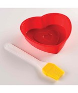 Valentine Day Special set Heart Shaped Pans Gla... - $13.88