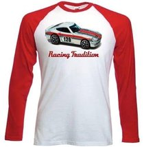 Datsun 24 Oz Inspired - Red Sleeved T-Shirt S [Apparel] - $23.99