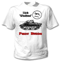 116Th Windhund Panzer Division Wwii - New Amazing Graphic T-Shirt M [Apparel] - $20.99