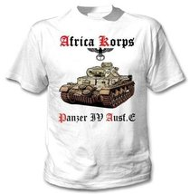 Deutches Africa Korps Panzer Iv - Amazing Graphic T-Shirt L [Apparel] - $20.99