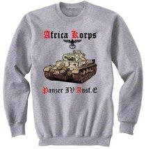 Deutches Africa Korps Panzer Iv Ausf.E - Graphic Sweatshirt S [Apparel] - $29.99