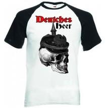 Deutches Heer Germany Wwi - Black Sleeved Baseball T-Shirt M [Apparel] - $22.49