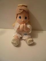 Precious Moments Prayer Pal Doll Angel Boy Recites Bedtime Prayer Retired - $19.79