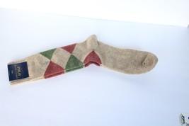 Beautiful Polo Ralph Cotton Mens 10-13 62% Wool Sock  - $9.00