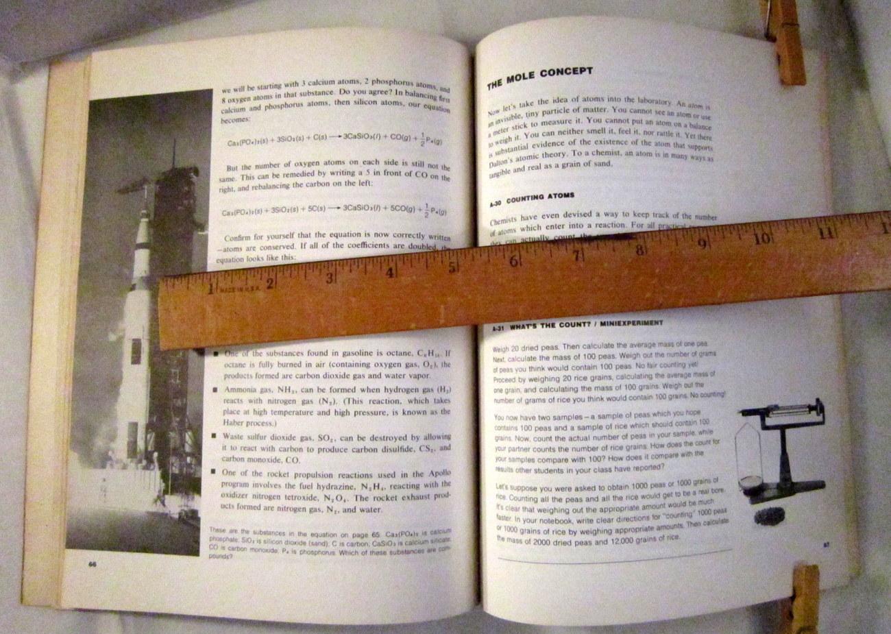 8 Chemistry IAC Modules 1970s Teacher Guide and High School Textbooks