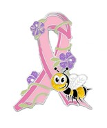 Breast Cancer Pin Pink Awareness Ribbon Bumble ... - $10.97