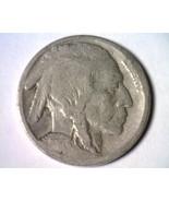1917 BUFFALO NICKEL GOOD G NICE ORIGINAL COIN F... - $8.00