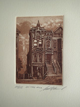 "Scott FitzGerald ""On The Hill "" Retail $75! S/N Sepia Brownstone Style H... - $24.74"