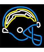 "NFL San Diego Chargers Helmet Logo Beer Neon Light Sign 17""x 15"" [High Quality] - $129.00"