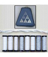 Silver Anniversary Metallic Blending Filament Collection cross stitch Kr... - $18.00