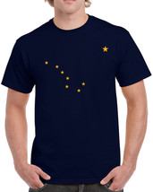 229 Alaska Flag mens T-shirt state america USA pride freedom All Sizes/Colors - $15.00
