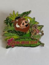 Timon And Pumba Lion King Spring Break 2019 WDW Walt Dismey World LE Pin - $19.79