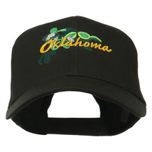 USA State Oklahoma Mistletoe Embroidered Low Profile Cap W43S68E - $16.49