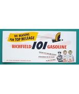 RICHFIELD 101 GASOLINE - 1950s Advertisement Ink Blotter - $4.94