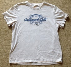 Indianapolis Colts White T-Shirt Women's Medium Reebok - $14.99