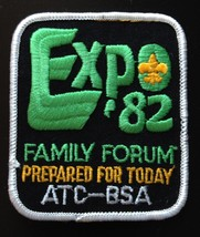 Boy Scouts Expo 1982 Family Forum Prepared for Today ATC-BSA Patch - $2.99