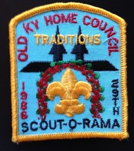 Boy Scouts Old Kentucky Home Council 29th Scout-O-Rama Traditions Patch - $2.99
