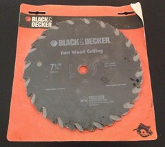 "Black & Decker Piranha Carbide Tooth Saw Blade 7-3/4"" - $11.99"
