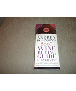Andrea Robinson's 2007 Wine Buying Guide signed by author Broadway Books - $14.99