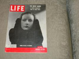 Life Magazine Jan 1955 Greta Garbo; Bad Seed Patty McCormack; Fashion; Nemo - $18.50