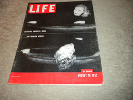 Life Magazine 1952 Marlene Dietrich & Daughter, Spain; Fashion; Dwigh Eisenhower - $22.30