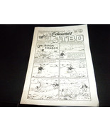 Ediciones TBO from Barcelona, Spain 4 page comic w illustrations by Tine... - $9.99