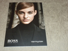Hugo Boss w Jason Wu debut & Bloomingdales Womens new clothng catalog 2014 - $6.99