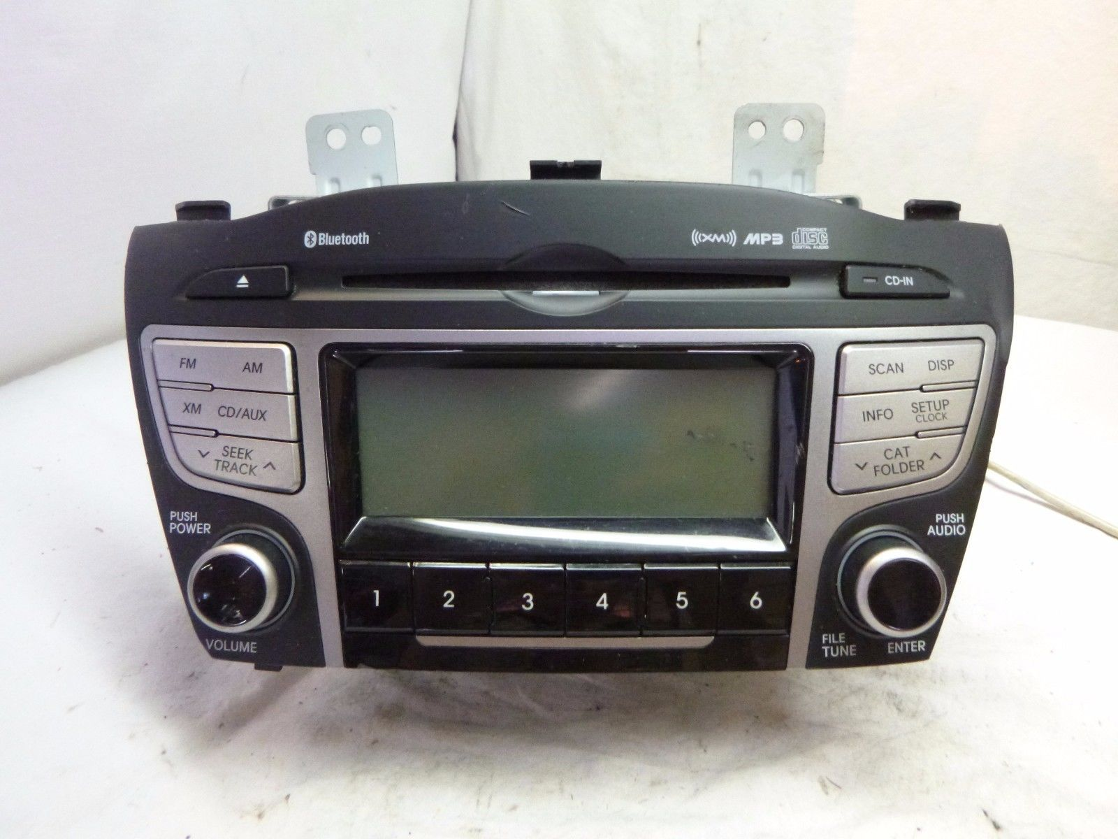 10 11 12 13 Hyundai Tucson Radio Cd MP3 Player XM 96160-2S161TAN SX818