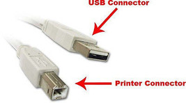 15Ft. (15 Feet) USB 2.0 A Male to B Male Printer Scanner Cable UL Listed  - $5.89