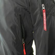 Men's Lightweight Water Resistant Reversible Flight Bomber Jacket w/ Defect image 3