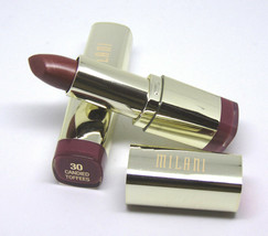 Lot Of 2 Milani Color Statement Lipstick No.34 Violet Volt 0.14oz./4g - $9.85