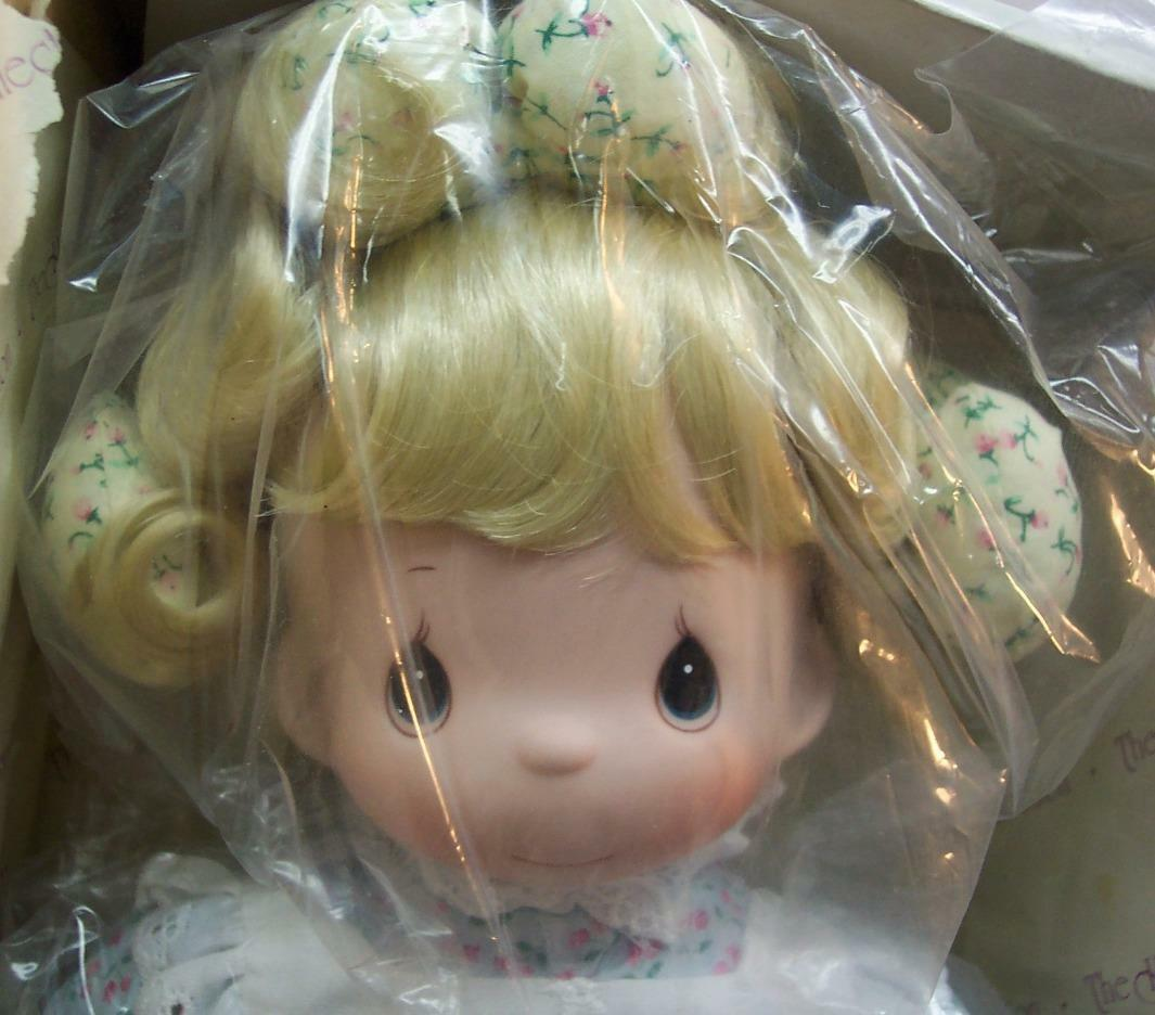 """Precious Moments DOLL """"TELL ME THE STORY OF JESUS"""" 14"""" Plush DOLL NEW BOX 1994"""