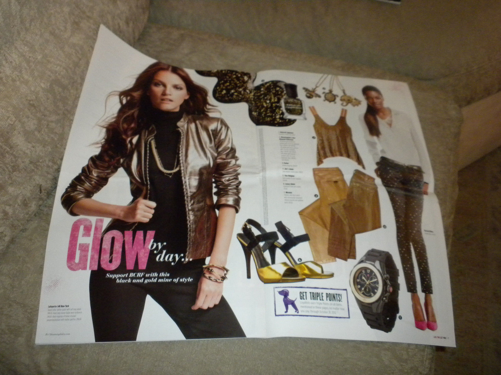 Bloomingdales New York w Sheryl Crow Pink Book Fashion & Accessory catalog 2012