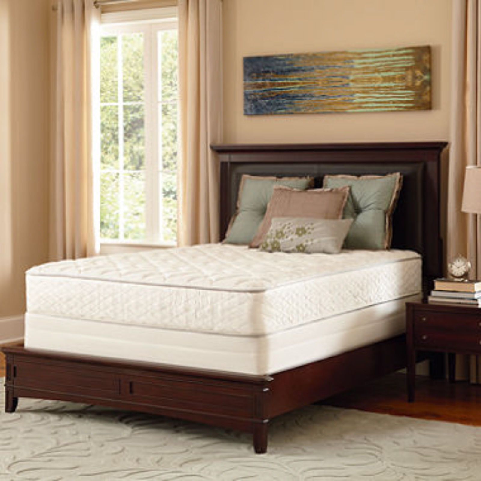 Serta Perfect Sleeper Aberdeen Firm Twin Mattress Set New Bedroom Furniture Beds Mattresses
