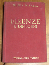ITALY 1950 Florence Firenze E Dintorni TCI Travel Guide Maps Book 4th Edition image 3