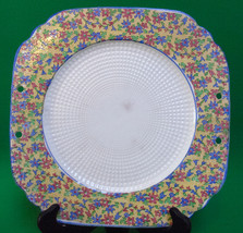 """Vintage 11""""Textured Square Decorative Plate Marked With 'K' And """"Japan"""" - $2.95"""
