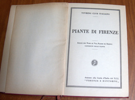 ITALY 1950 Florence Firenze E Dintorni TCI Travel Guide Maps Book 4th Edition image 6