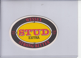 Wessex Stud Extra Strong Bitter Bar Coaster - $5.00