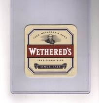 Wethered's Traditional Ales Bar Coaster - $5.00